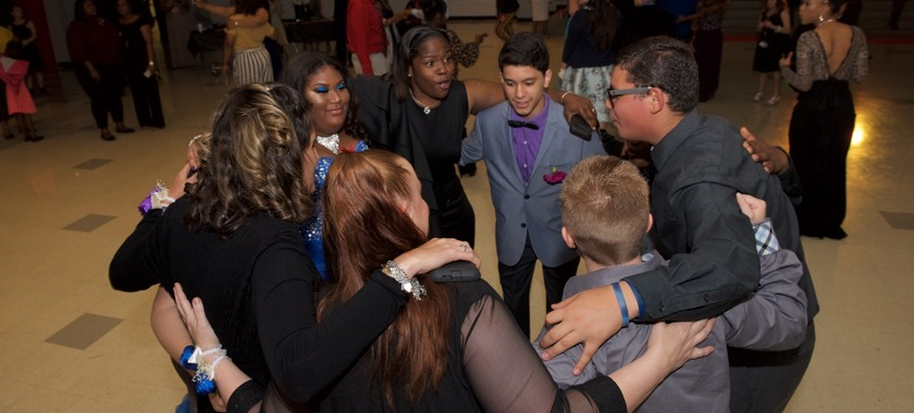 Shoemaker hosted KISD's second angel prom
