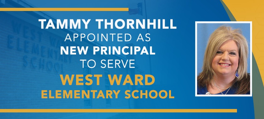 Tammy Thornhill named new principal for West Ward ES