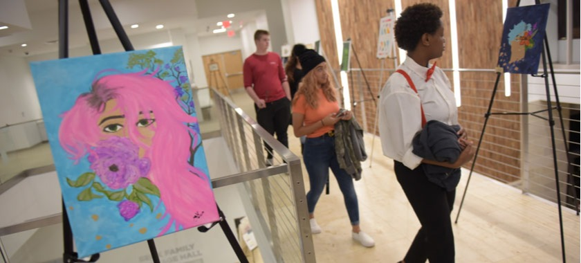 Early College students give artistic expression