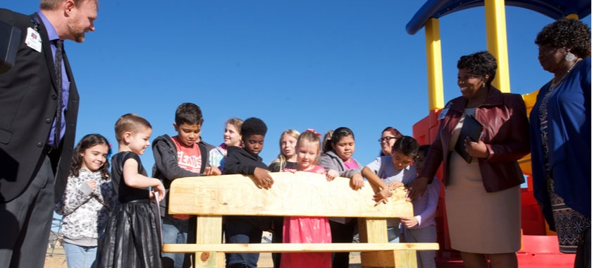 Exchange Club delivers Buddy Benches