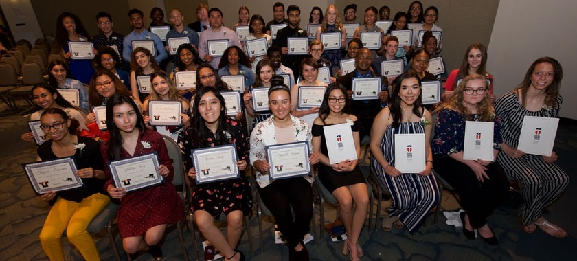 KISD honored scholarship recipients