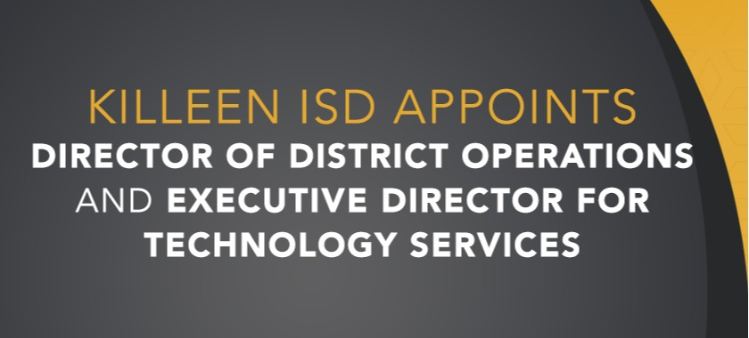 George Ybarra Executive Director of Tech Services & Jason Johnson as Director of District Operations