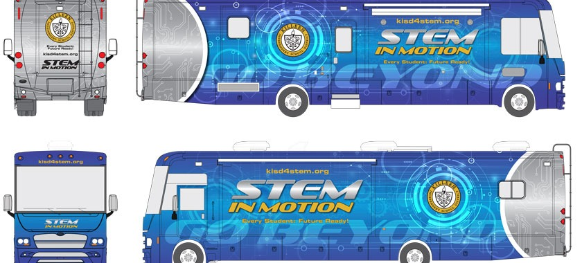 STEM in Motion mobile lab