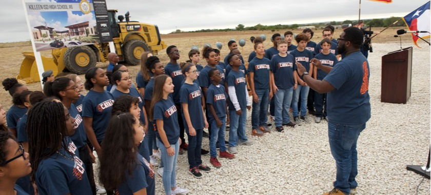 KISD breaks ground on High School No. 6