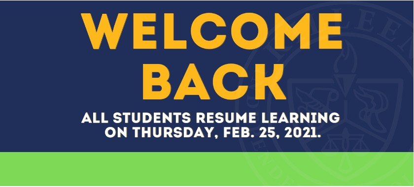 Welcome Back KISD! Reopening Plans