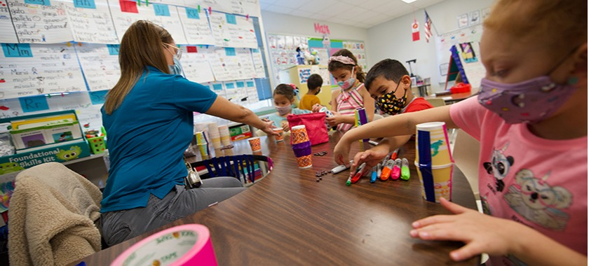 Schools celebrate culture with classroom activities.