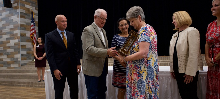 Brenda Wilson honored for 45 years of service