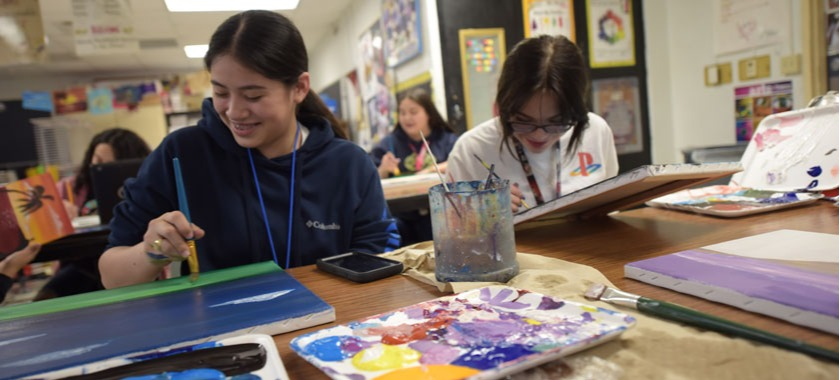 Annual art show features student artists