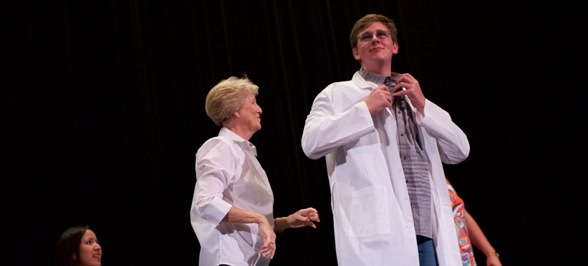 TBI awarded white coats to 63 juniors