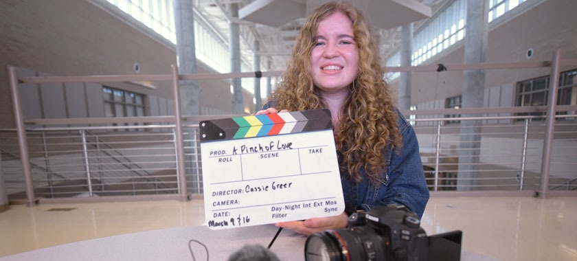 Senior Cassie Greer produced a movie going to the SXSW Festival.