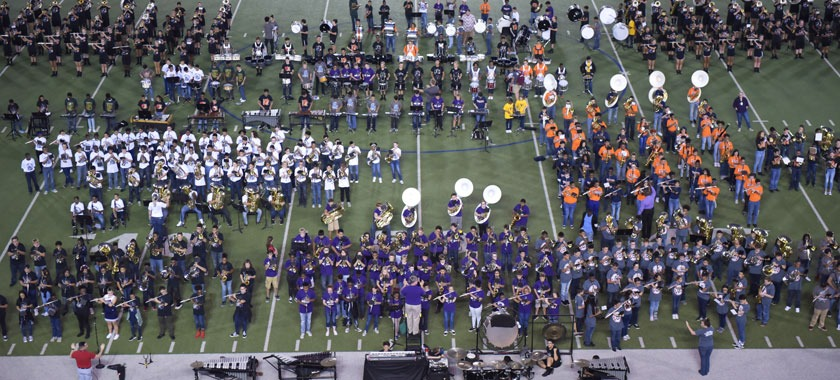 Eleven KISD middle school bands performed in MSX