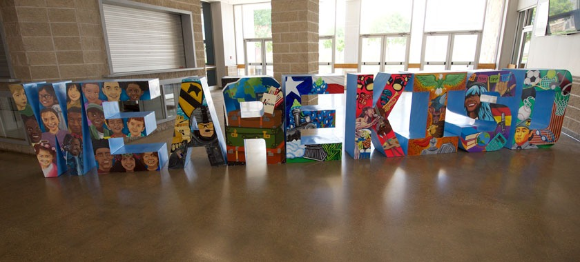 We Are KISD Art Piece