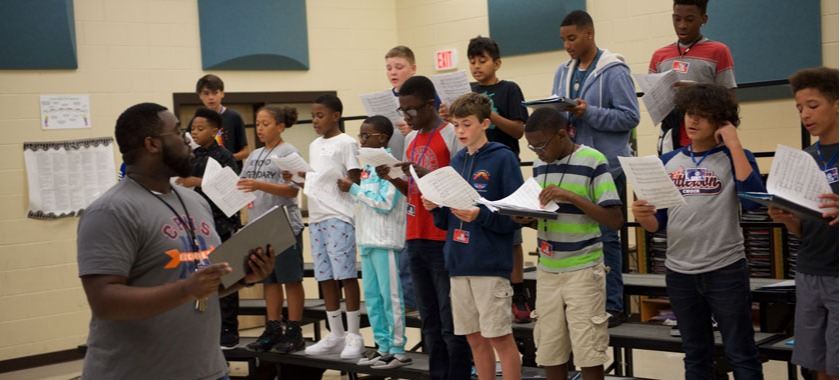 Patterson MS boys choir wins state honor