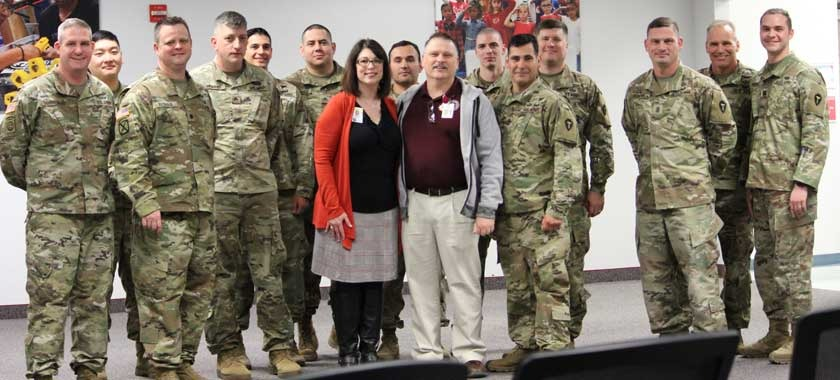 KISD employee receives Legion of Merit