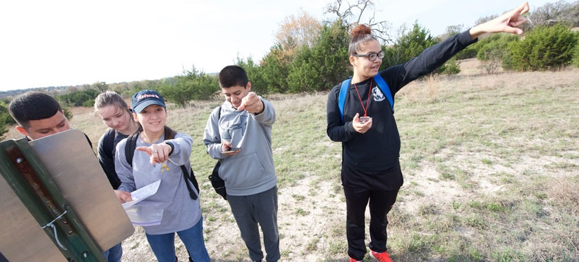 Shoemaker HS JROTC land navigation