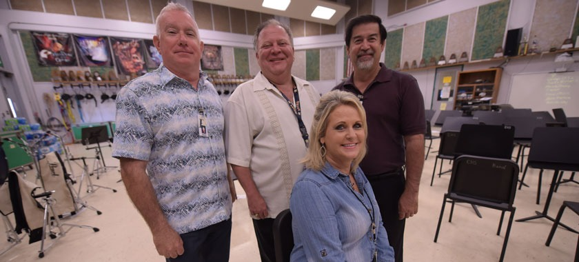 Four current Ellison teachers were students when the school opened