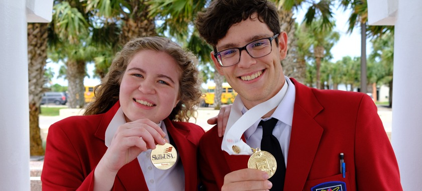 KISD Career Center pair going to national competition