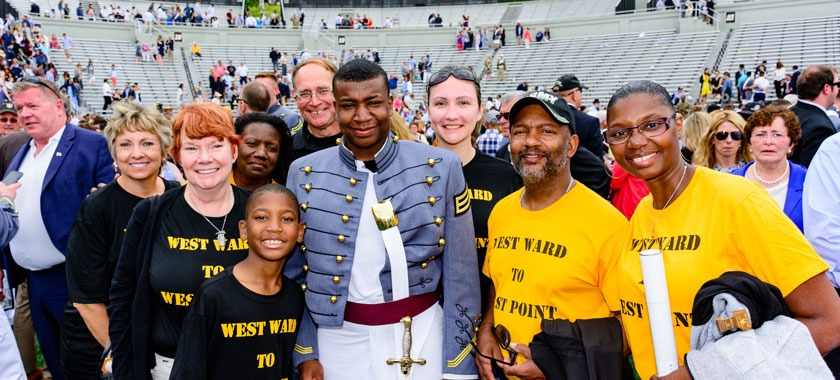 West Ward alum graduates from West Point