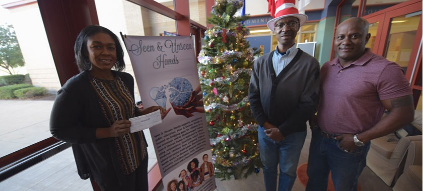 Unseen Hands Group Gives Grant