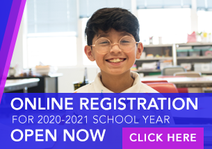 Online Registration for 2020-2021 school year open now, click here.